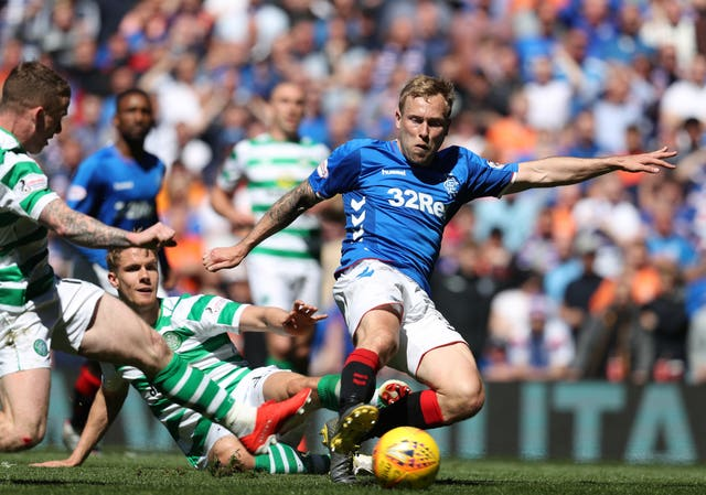Rangers will be out to halt Celtic's quest for 10 in a row this season