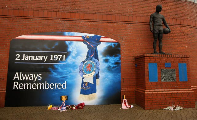 Soccer – Ibrox Disaster 40th Anniversary – Ibrox