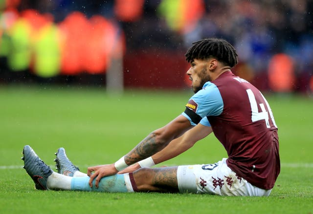 Villa suffered an injury blow when defender Tyrone Mings went off in the first half