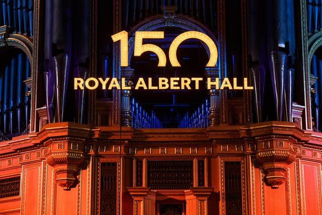 Royal Albert Hall 150th anniversary