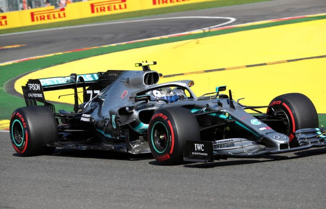 Valtteri Bottas trails Mercedes team-mate Lewis Hamilton in the Formula One standings