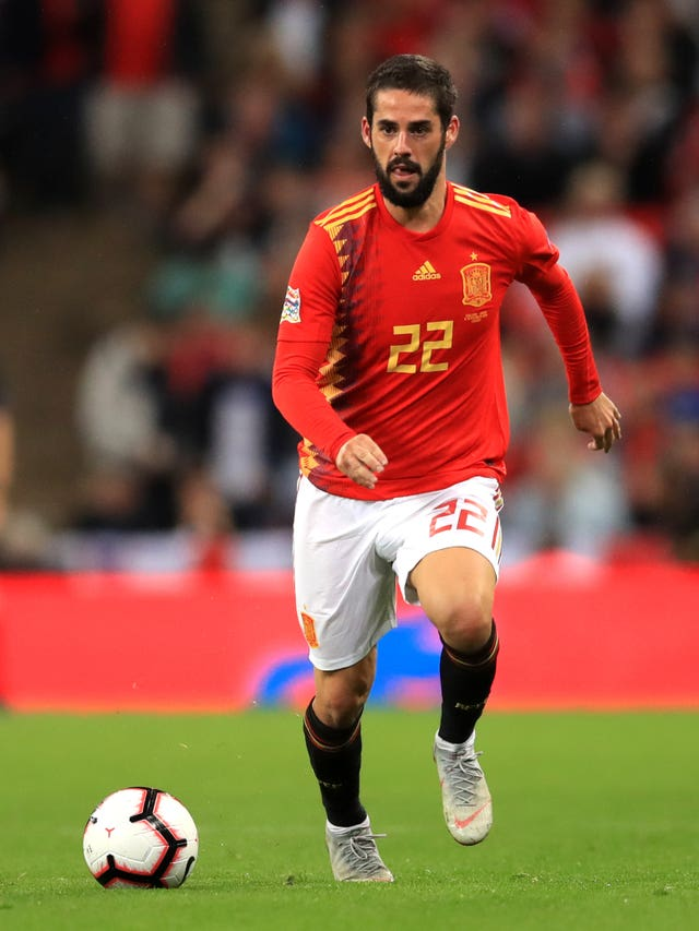 Arsenal have been linked with a move for Spain international Isco
