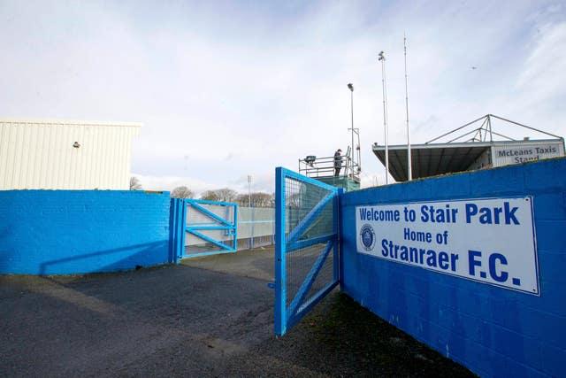 Relegated Stranraer backed Rangers' probe calls