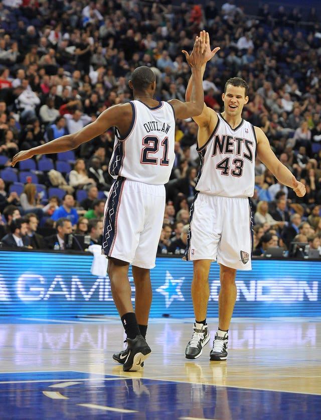 Basketball – NBA – Game Two – New Jersey Nets v Toronto Raptors – o2 Arena