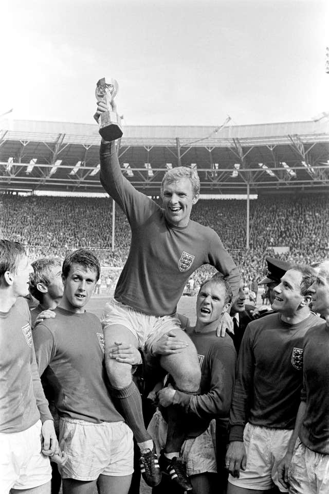 1966 World Cup Final file photo