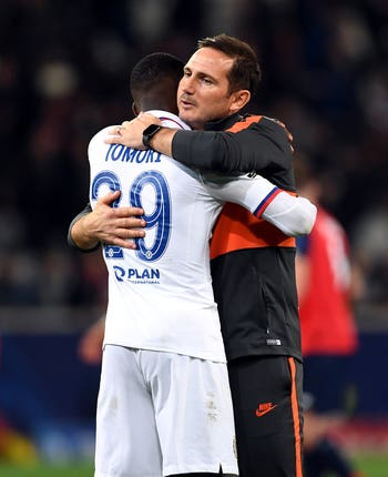Frank Lampard is enjoying working with Fikayo Tomori