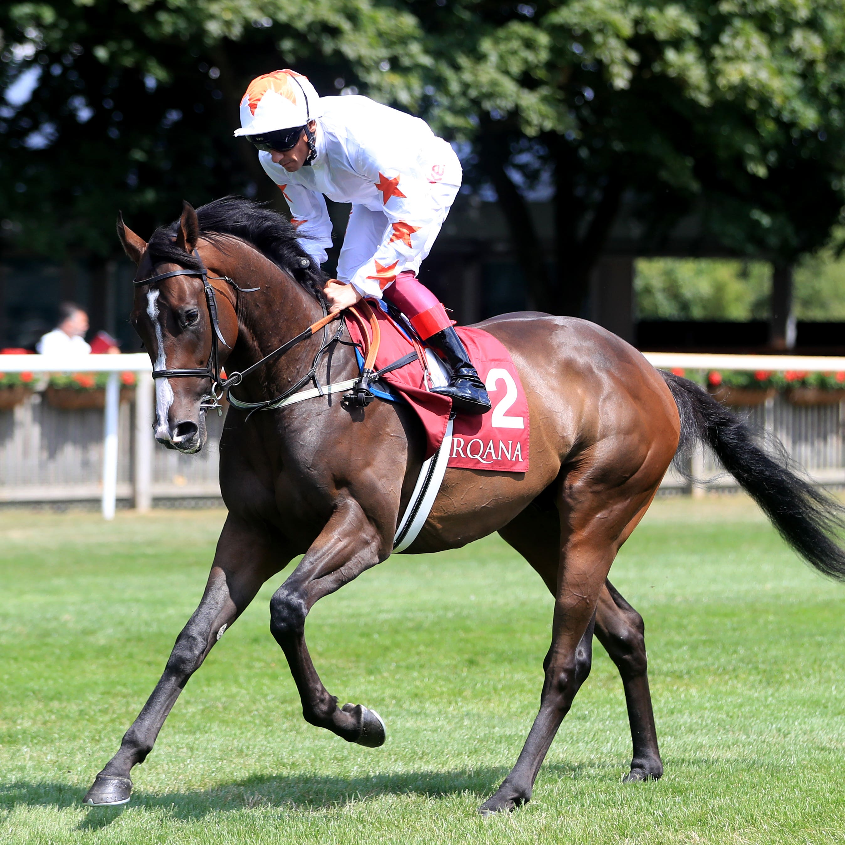 Advertise and Frankie Dettori go to post for the July Stakes