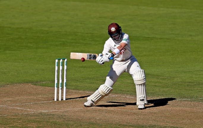 Surrey's Ollie Pope is on standby for England