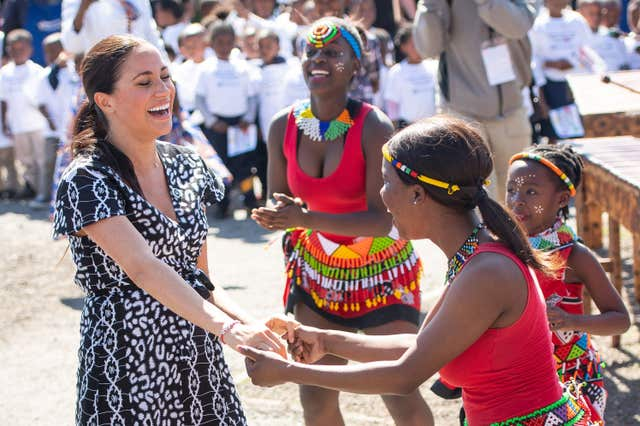Royal visit to Africa