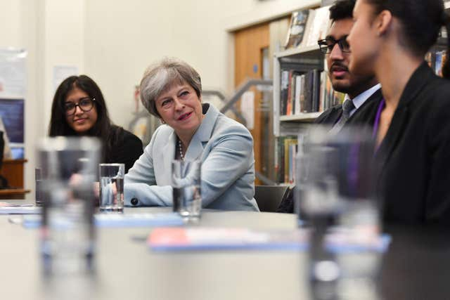 "Britain's education system needs to be more ""flexible and diverse"", the Prime Minister has said, launching a review of higher education. (Ben Stansall/PA)"