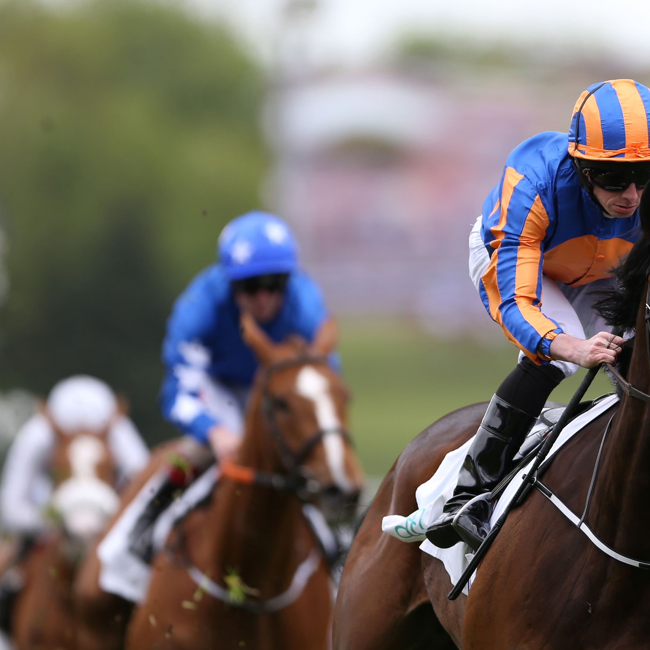 Magic Wand on her way to winning the Cheshire Oaks (Tim Goode/PA)