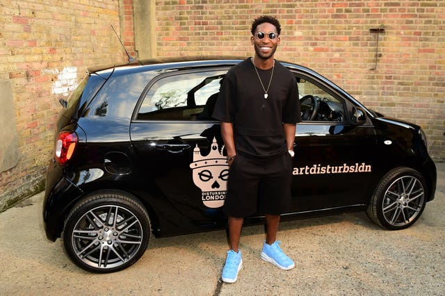 Tinie Tempah Smart Car Launch Party