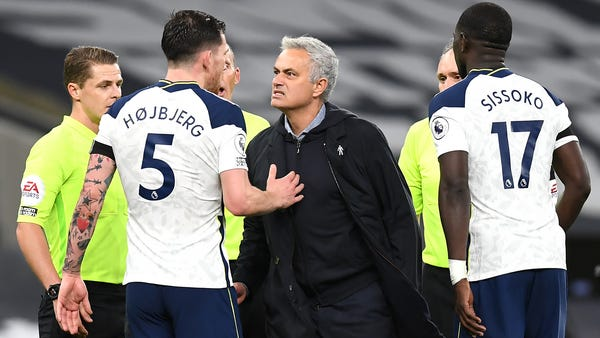 Jose Mourinho relishes 'proper team performance' as clinical Spurs sink Man City
