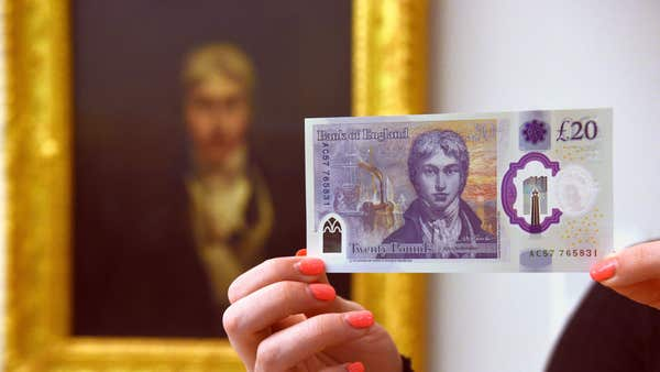 How do past £20 notes measure up against the new JMW Turner version?