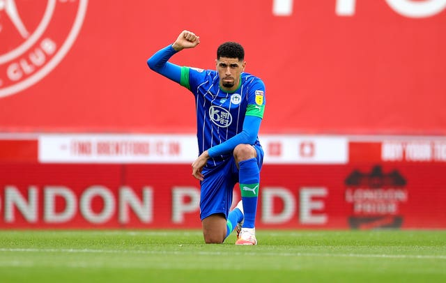 Balogun still feels an injustice over Wigan's relegation