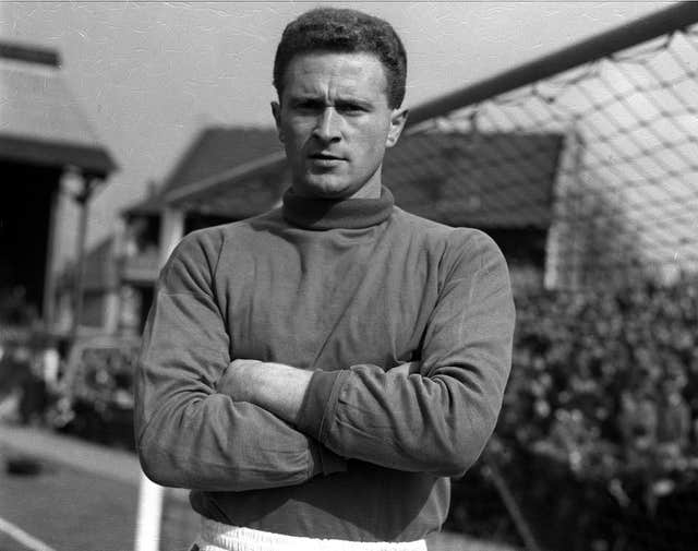 Former Manchester United and Northern Ireland Ireland goalkeeper Harry Gregg