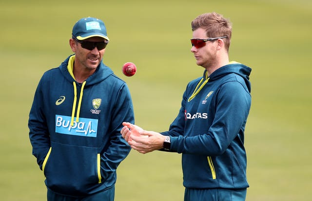 Steve Smith, right, will almost certainly be back in Australia's ranks for the fourth Ashes Test (Tim Goode/PA)