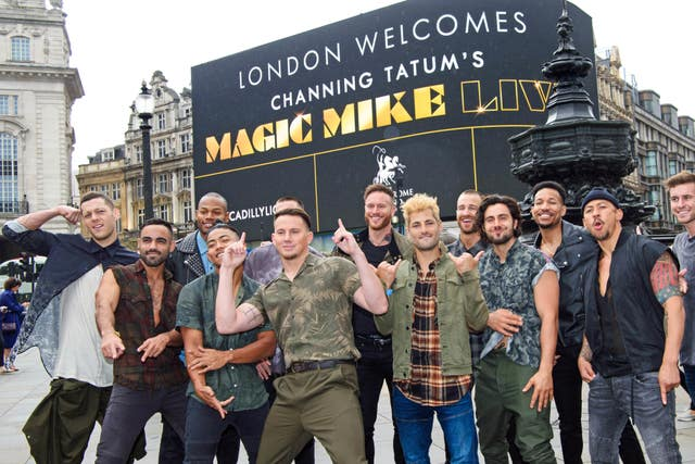 Magic Mike Live Photocall – London
