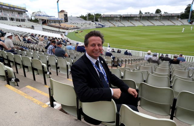 Nigel Huddleston said a timescale can not be put on the return of fans