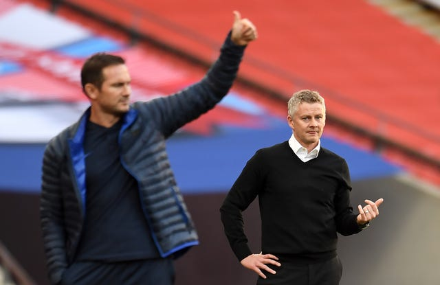 Frank Lampard says Chelsea have three finals to come