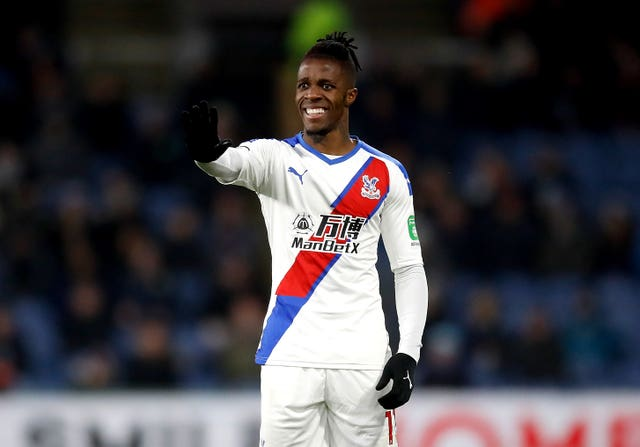 Chelsea is eyeing a transfer for Crystal Palace winger Wilfried Zaha