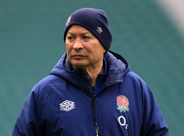 England head coach Eddie Jones has lost his warm-up to the autumn