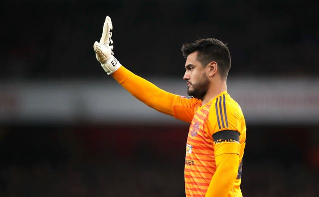 Solskjaer has faith in his back-up keepers, including Sergio Romero
