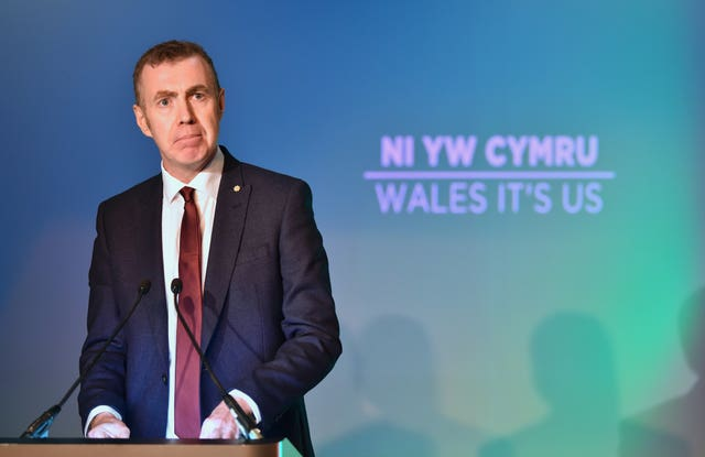 Plaid Cymru leader Adam Price is demanding the Welsh Government takes action to stop people coming to Wales to self-isolate (Ben Birchall/PA).
