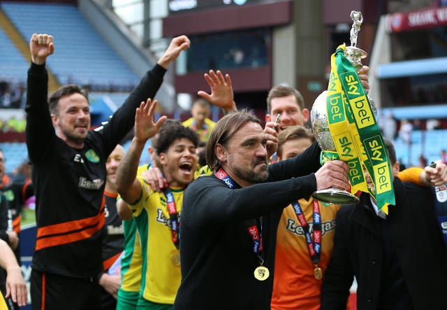 Daniel Farke guided Norwich to the Sky Bet Championship title last season