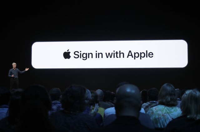 Apple unveils the Sign In feature
