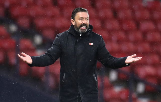 Derek McInnes feels the money is much-needed