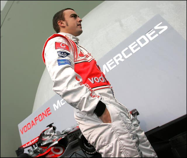 Fernando Alonso's first stint at McLaren ended after only one season