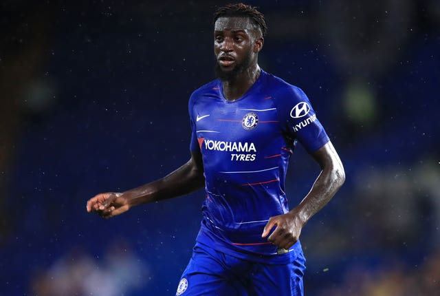 Tiemoue Bakayoko spent last season away from Chelsea on loan at AC Milan.