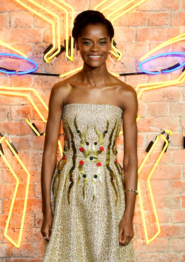 Like Kaluuya, co-star Letitia Wright will be familiar to audiences from an episode of Netflix's anthology series Black Mirror (Ian West)