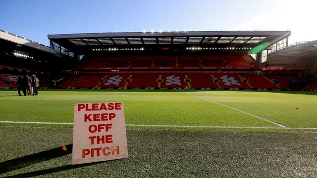 Premier League pitches and the area immediately around them will be classified as the 'red zone'