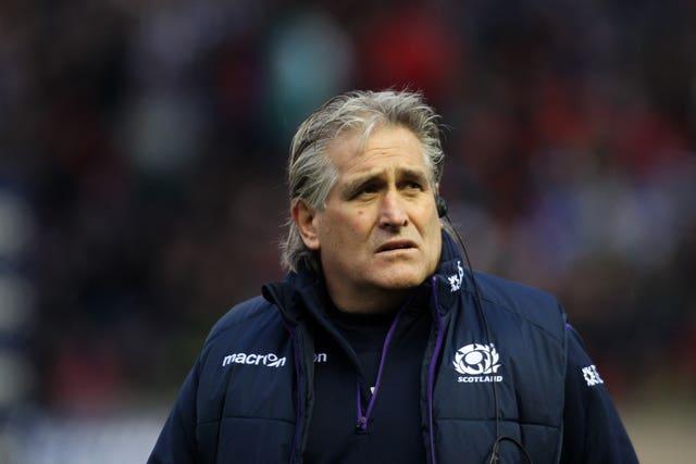 Former Scotland head coach Scott Johnson