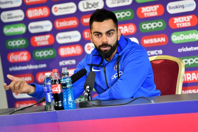 India captain Virat Kohli echoed his team-mate's thoughts (