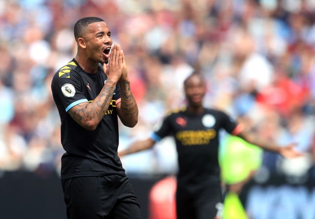 Gabriel Jesus saw a goal ruled out by VAR
