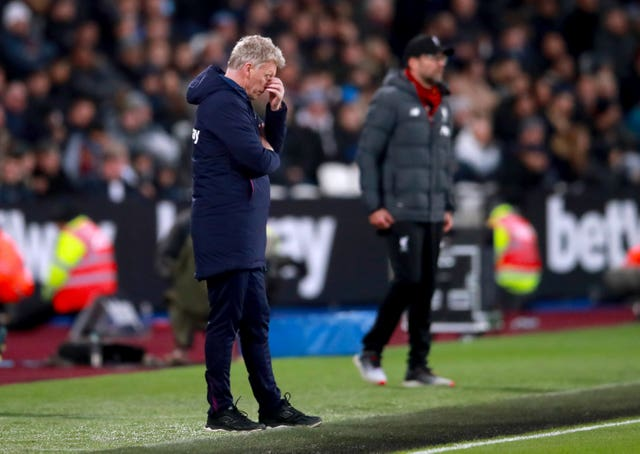 David Moyes admits West Ham were beaten by the better side