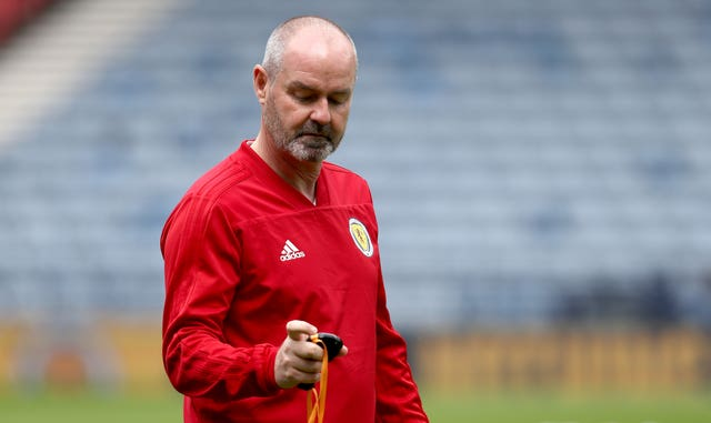 Scotland manager Steve Clarke has limited time to work with his squad