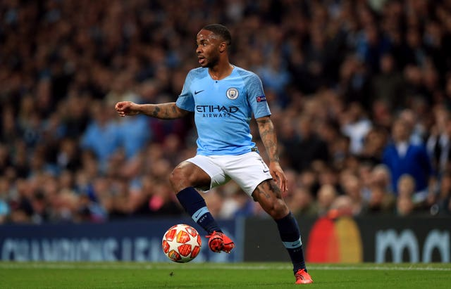 Manchester City's Raheem Sterling alleged he was racially abused during a match at Chelsea last season
