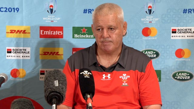 Wales Press Conference – Warren Gatland