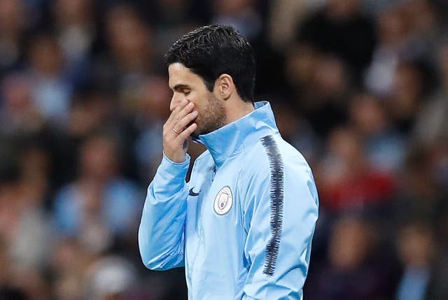 Mikel Arteta was strongly linked with the Arsenal job before Unai Emery's appointment