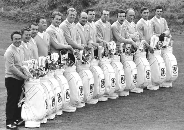 Ryder Cup team 1969
