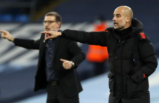 Bilic's last match in charge of West Brom saw the Baggies hold Manchester City to a draw