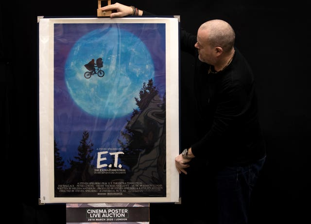 A US one-sheet Poster for E.T. The Extra Terrestrial