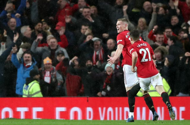 Manchester United's Scott McTominay sealed a 2-0 derby victory over Manchester City with an injury-time strike