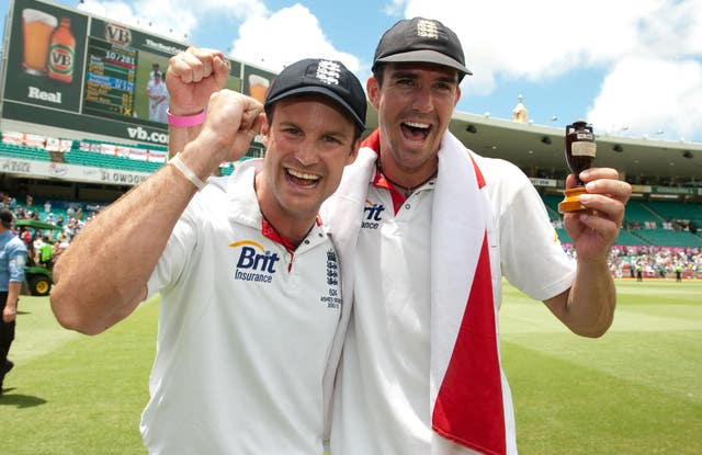 Under his replacement as captain Andrew Strauss, Pietersen shone as England won the Ashes in Australia for the first time in 24 years in 2011