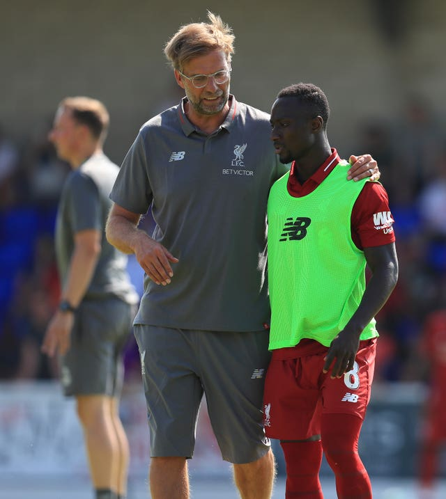 Keita and Klopp are now able to converse in English