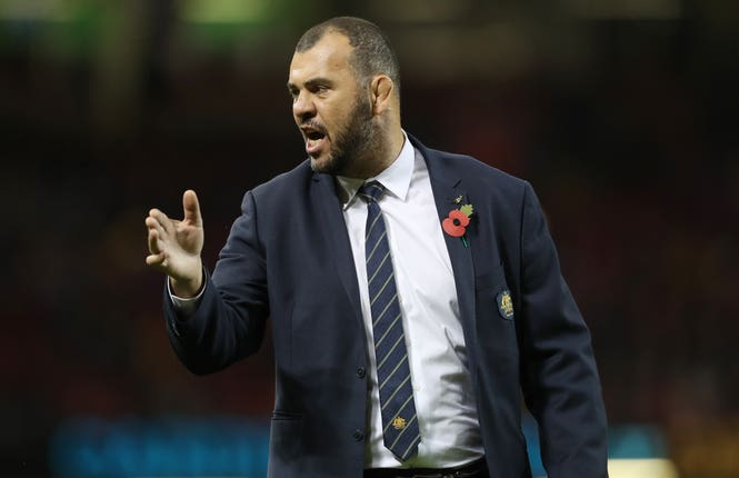 Australia coach Michael Cheika claims Wales are favourites